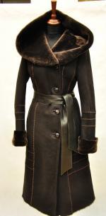 зимние дубленки женские 2013