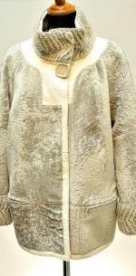 куртка из астрагана на две стороны