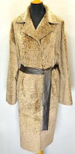 пальто из астрагана